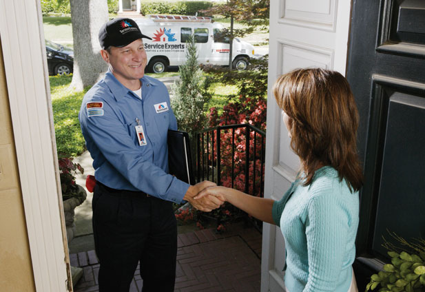 in-home estimate from Peitz Service Experts Heating & Air Conditioning